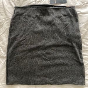 Hollister Grey Knit Skirt BNWT